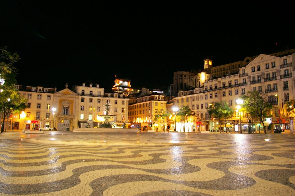 Plaza Don Pedro IV, Lisboa
