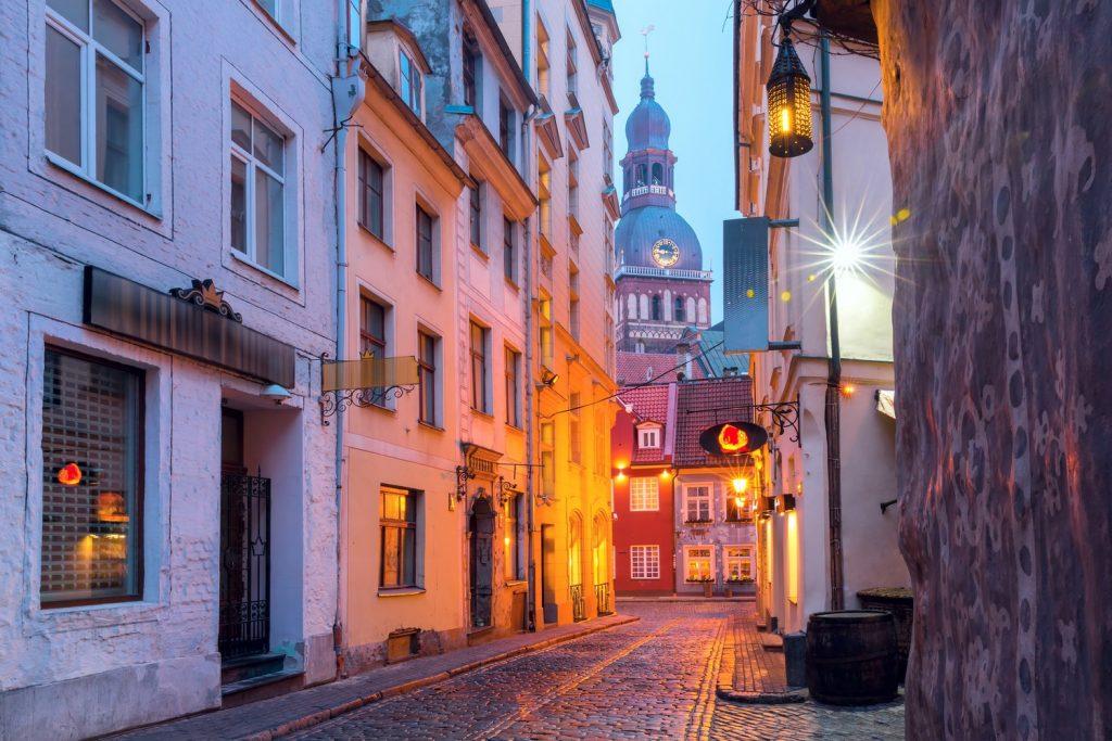 Callejones de Riga