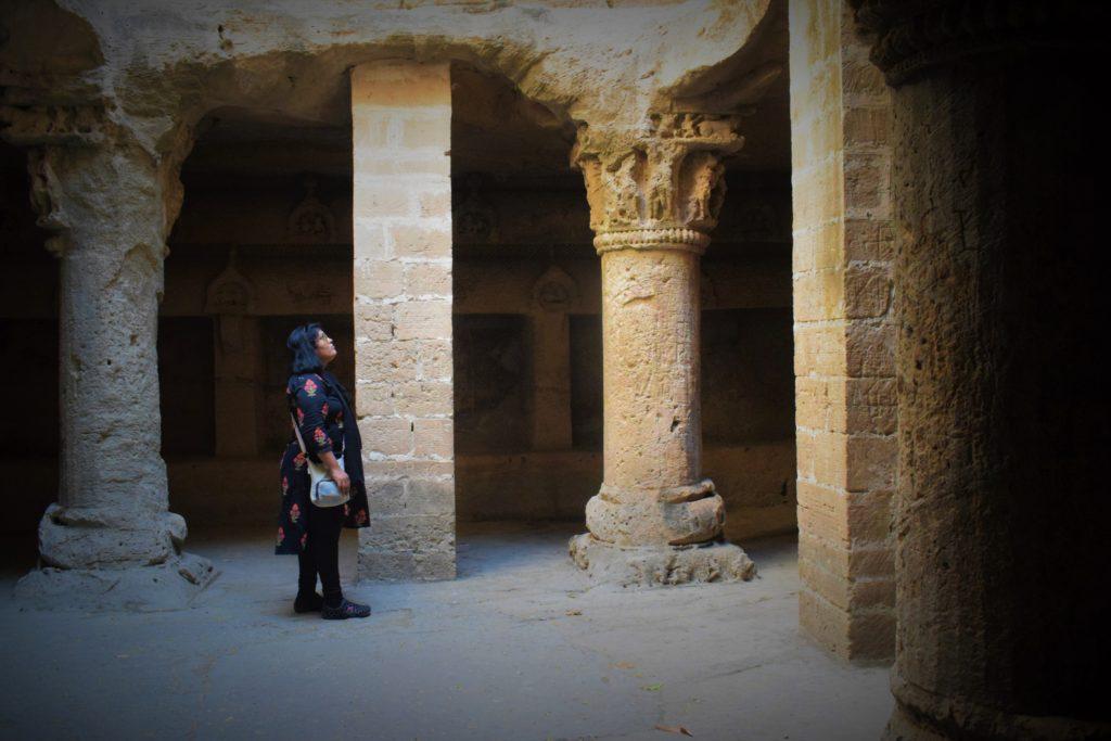 Cuevas budistas de Uparkot, Junagadh
