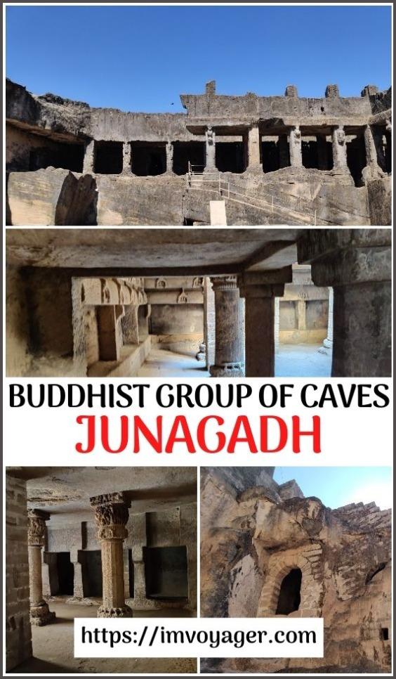Cuevas de Khapra Kodiya - Cuevas budistas Junagadh
