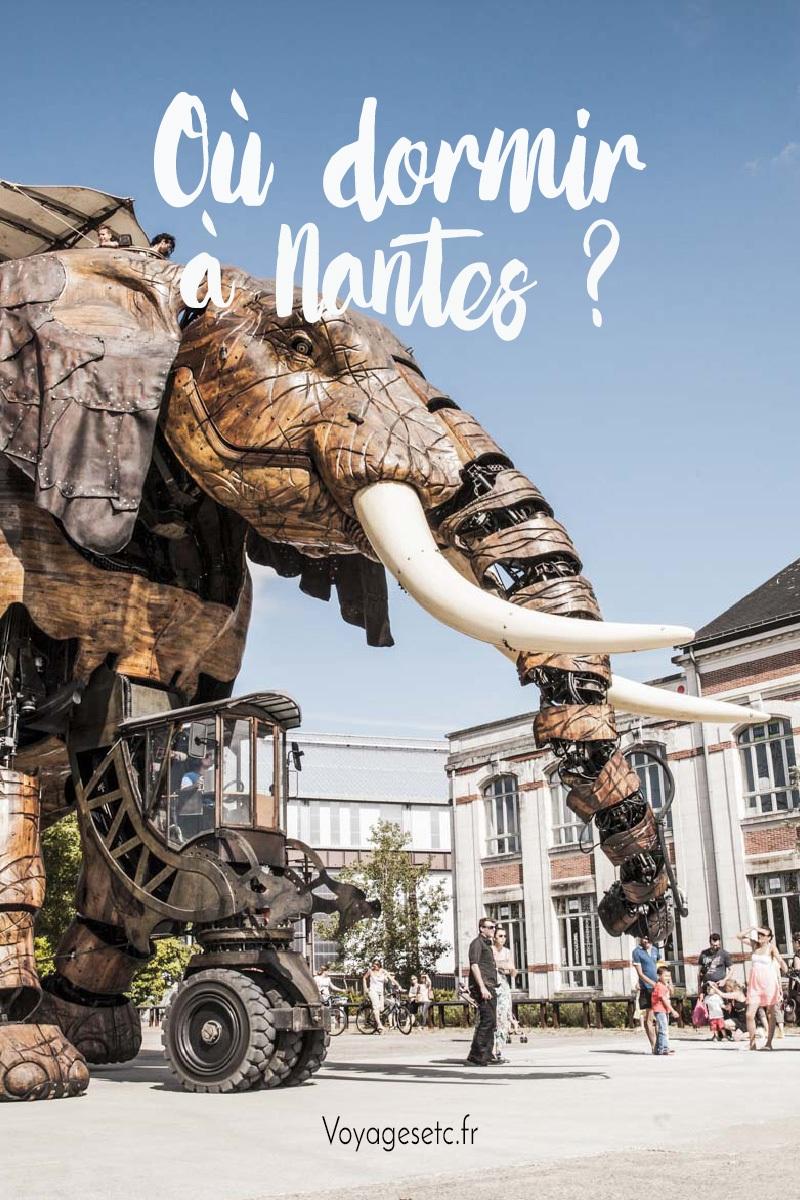 ¿Dónde dormir en Nantes?  Buenas direcciones por distrito