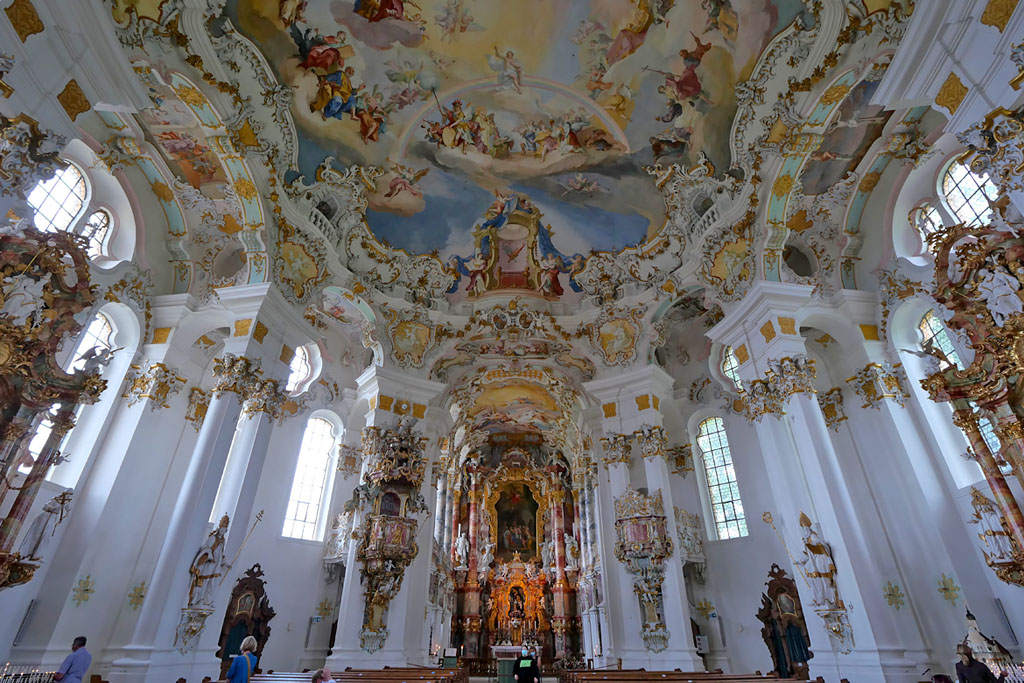 Iglesia de Wies (Wieskirche) - Road trip Baviera