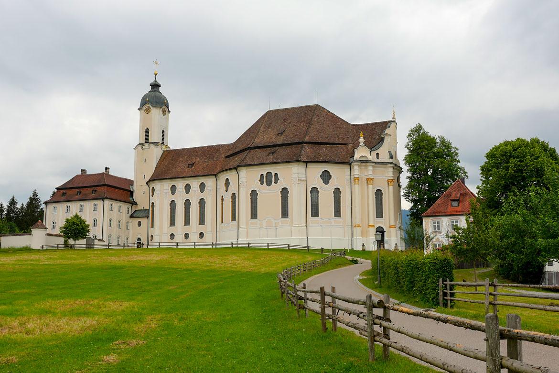 Iglesia Wies (Wieskirche) - Calle Bavaria