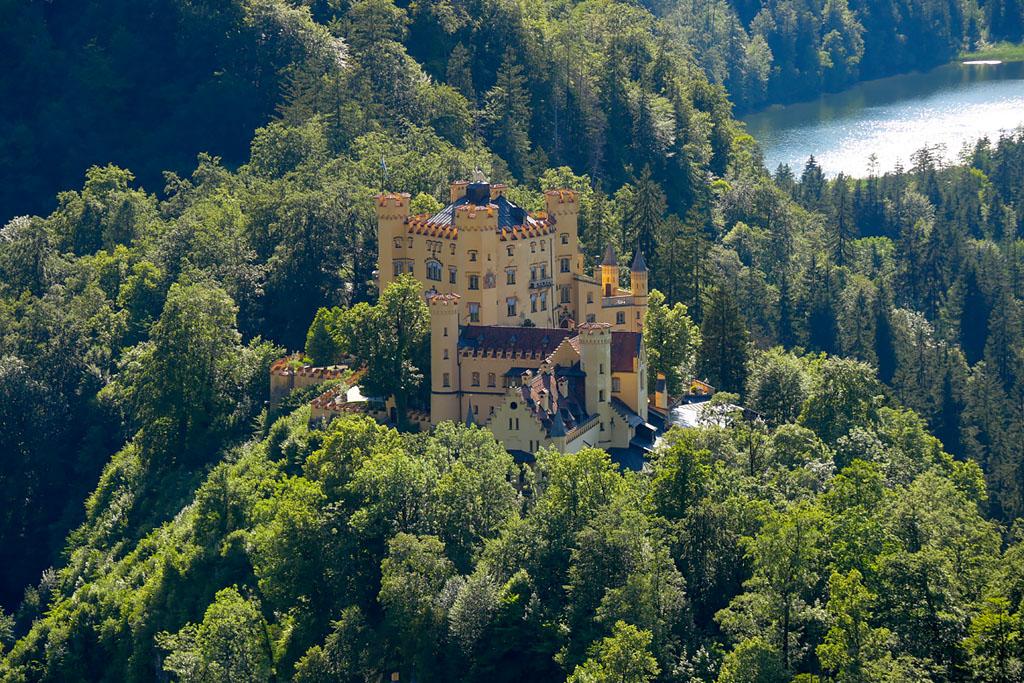 Castillo de Hohenschwangau, Baviera, Alemania