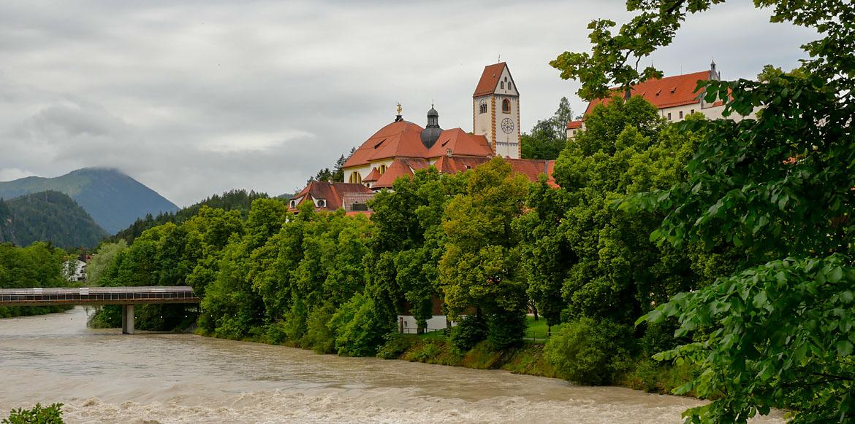 Füssen Baviera Alemania