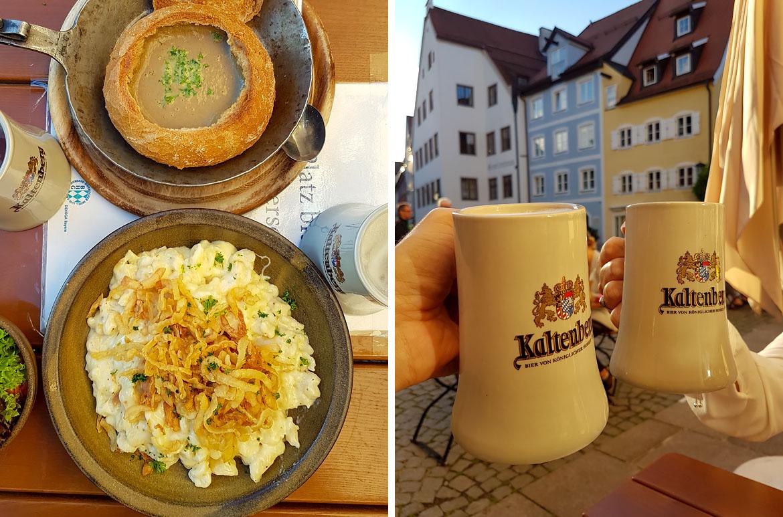 Gastronomía Baviera Alemania