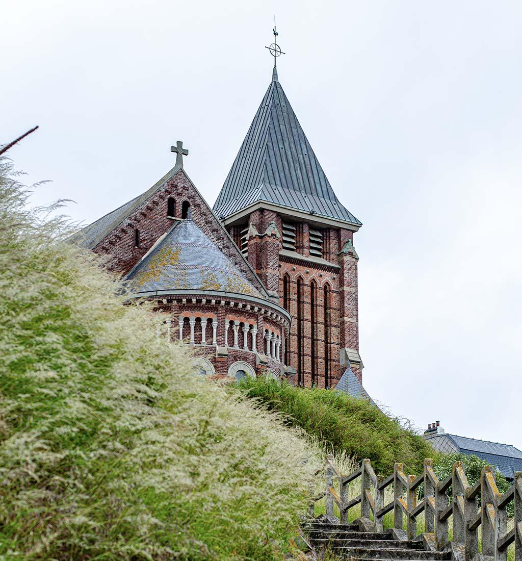 Iglesia de Saint-Martin Mers