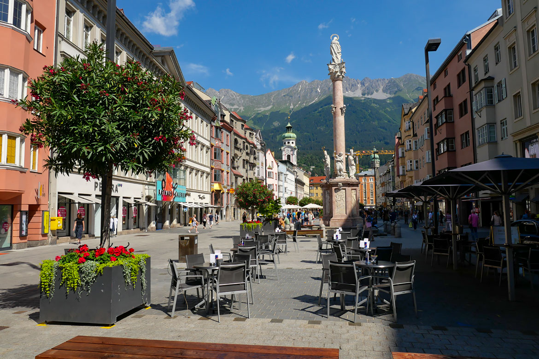Innsbruck Maria Theresien Strasse