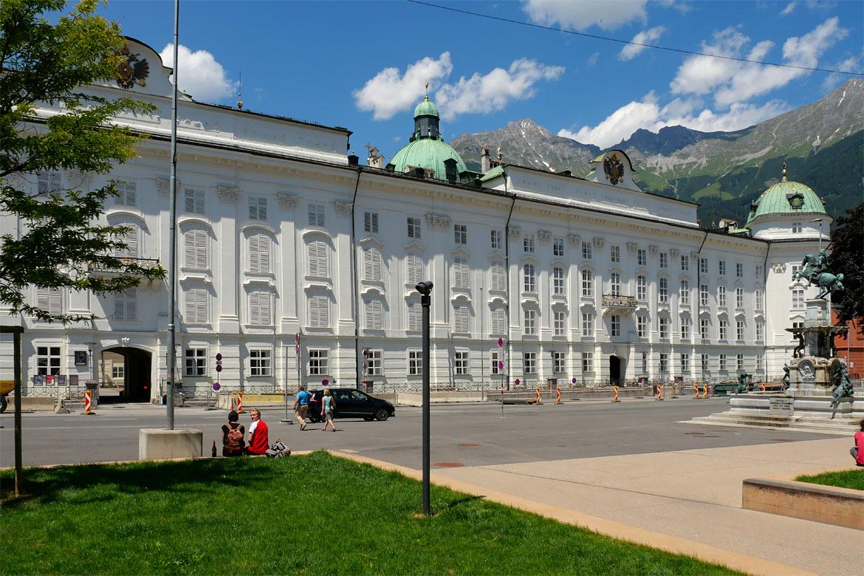 Palacio Imperial de Hofburg en Innsbruck
