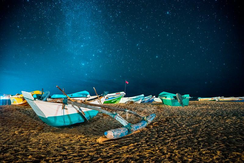 Estrellas de Arugam Bay