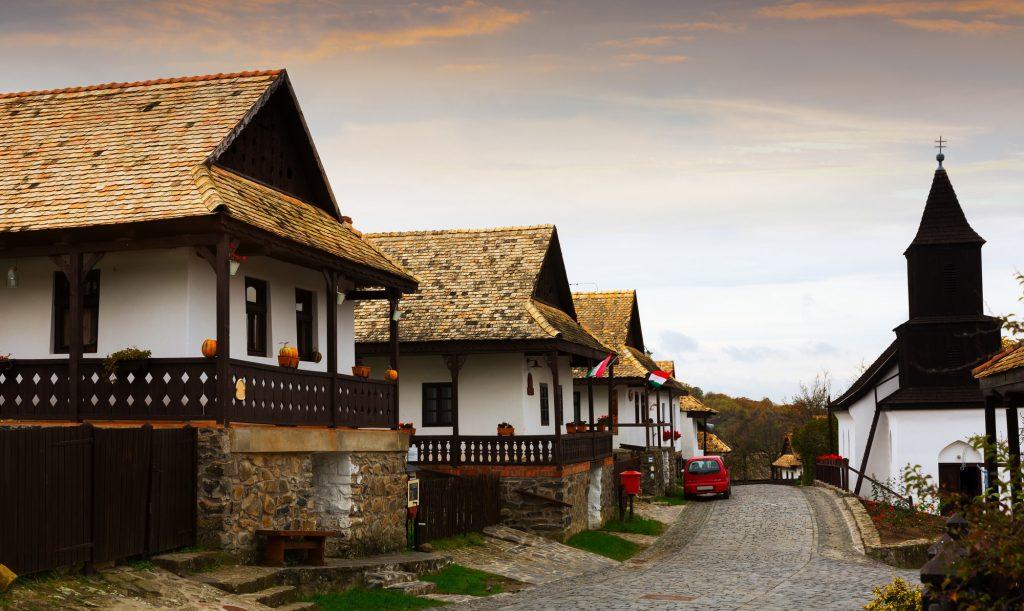 hongrois holloko village