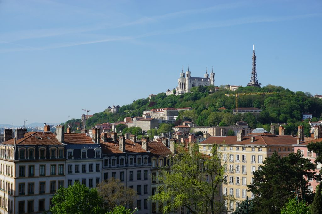 Colina de Fourvière Lyon
