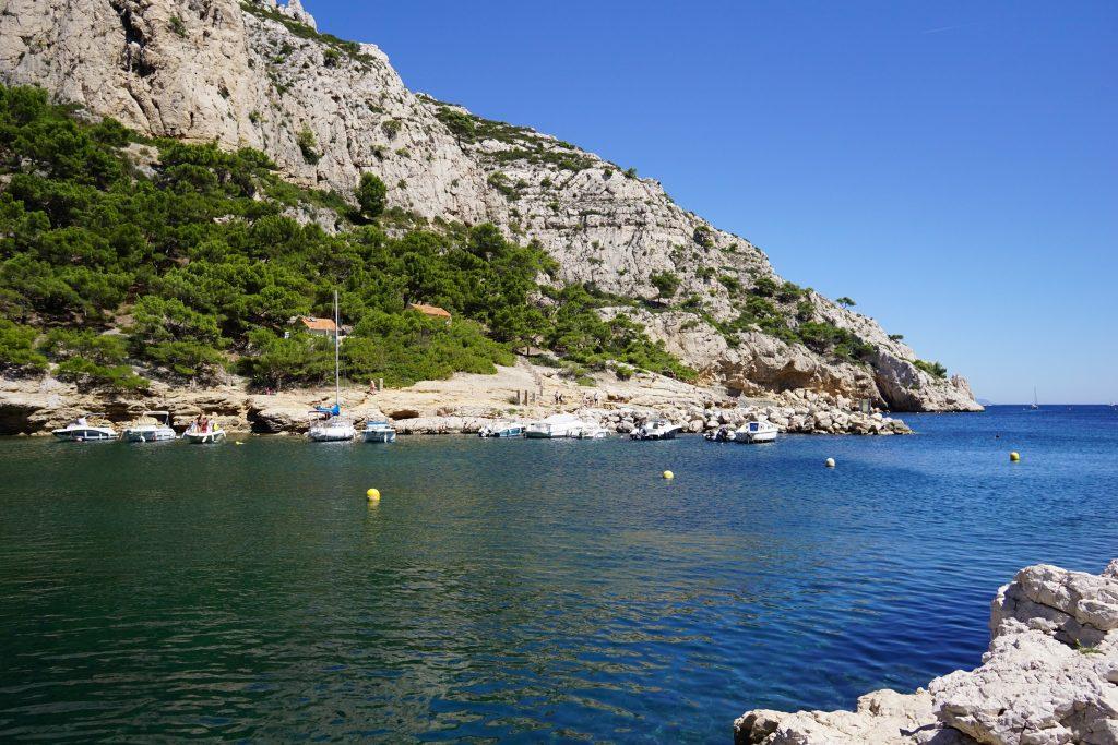 Calanque de Morgiou, Marsella