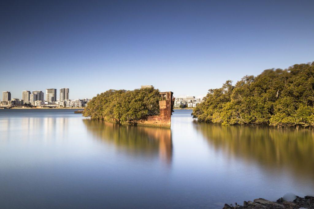 Los restos del SS Ayrfield, descubriendo una Australia inusual