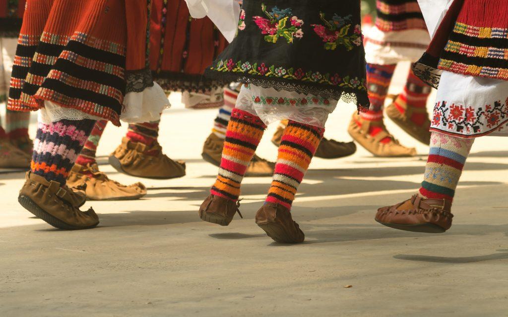 Danza búlgara en Sofía