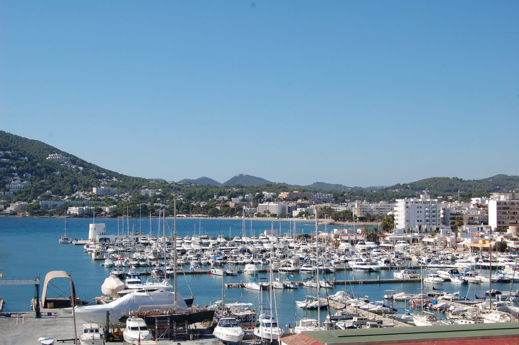 puerto deportivo ibiza