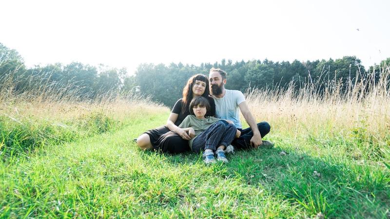 Lana y su familia después de vender todo para viajar