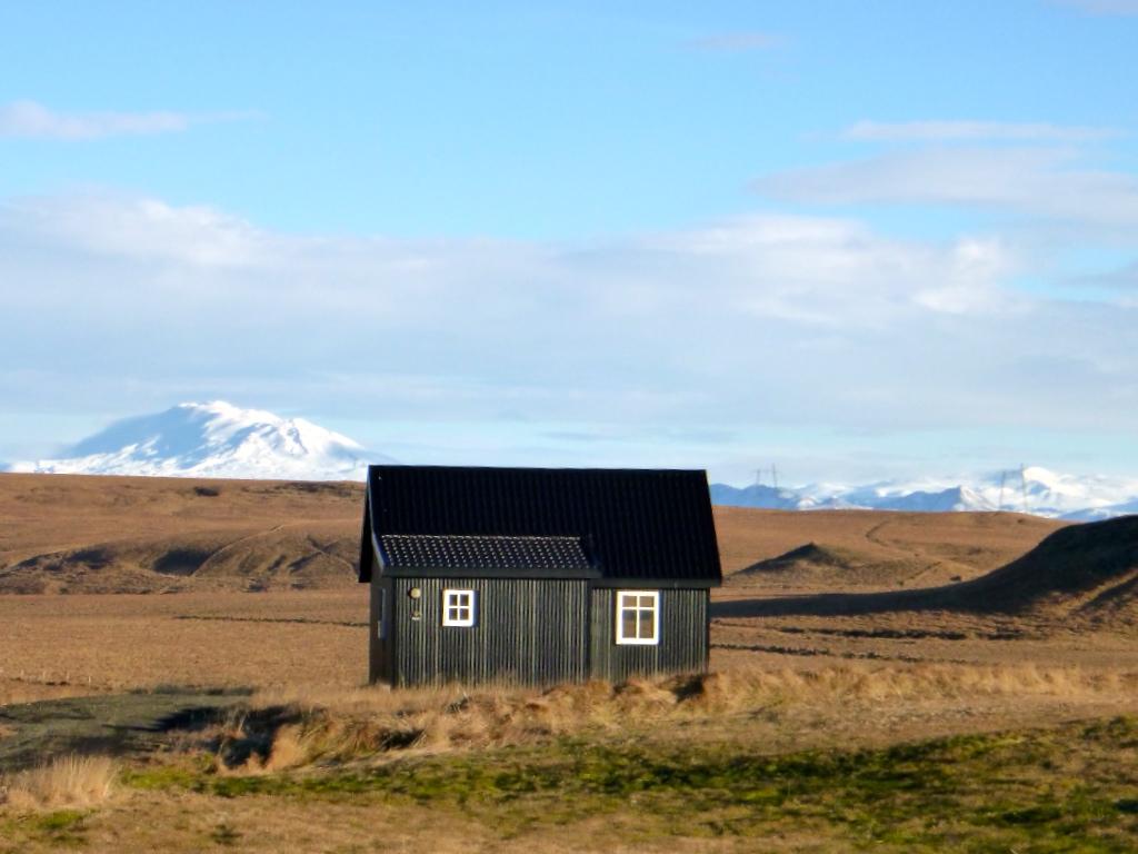 Casa de la naturaleza islandia