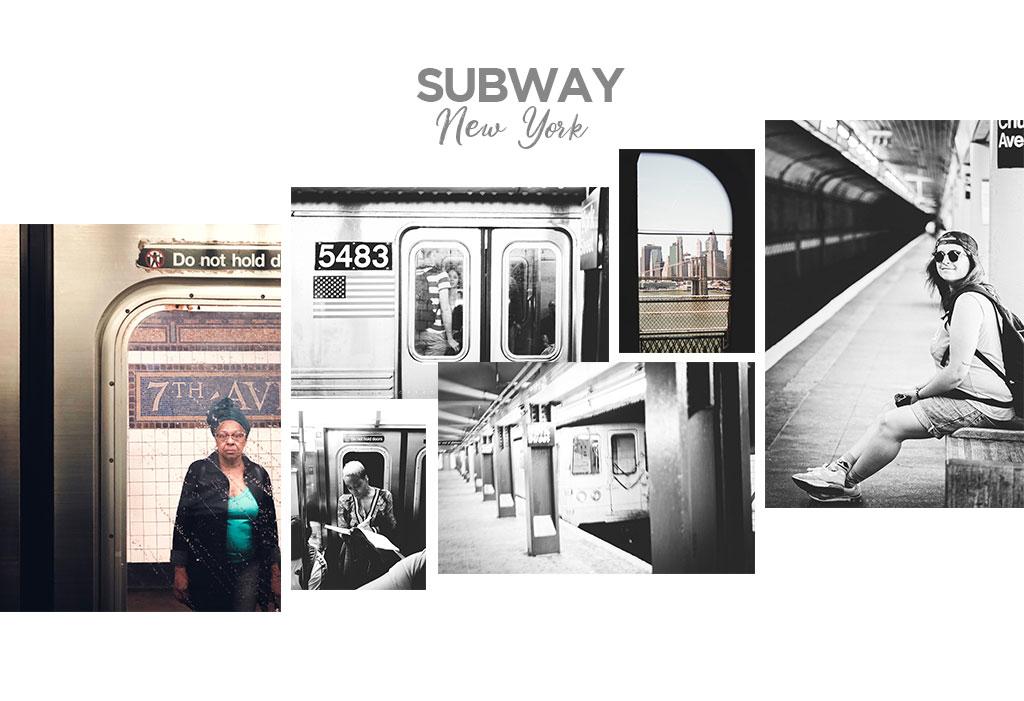 toma el metro de Nueva York
