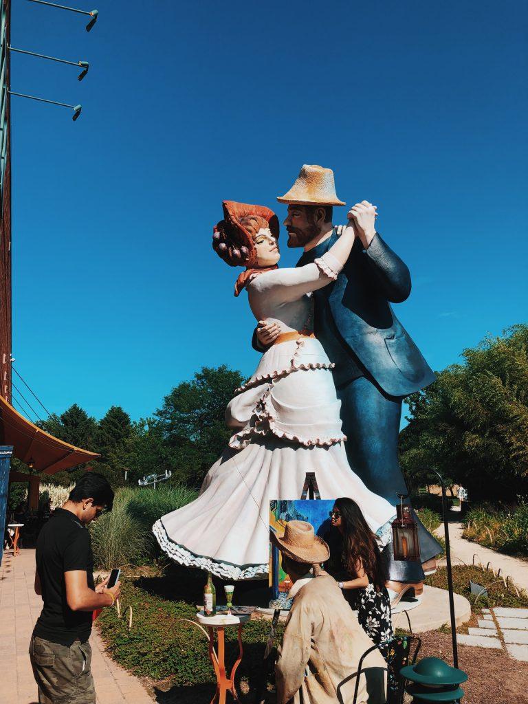 Grounds for Sculpture un paseo por el arte en Nueva