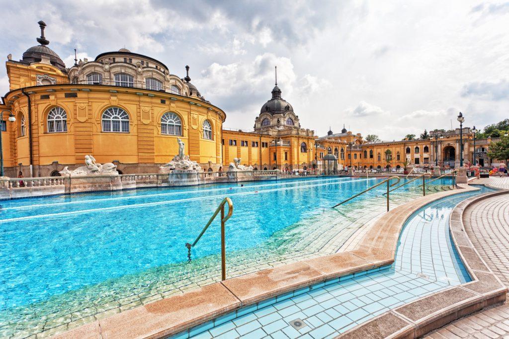 Baños termales de Budapest