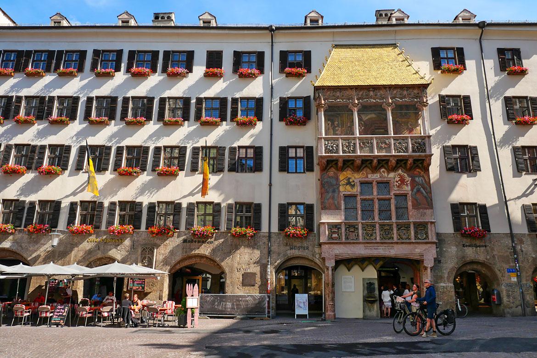 Innsbruck el pequeño techo dorado