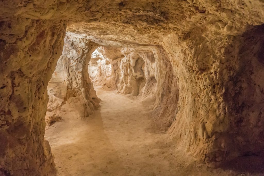 Los famosos subterráneos de Coober Pedy, Australia