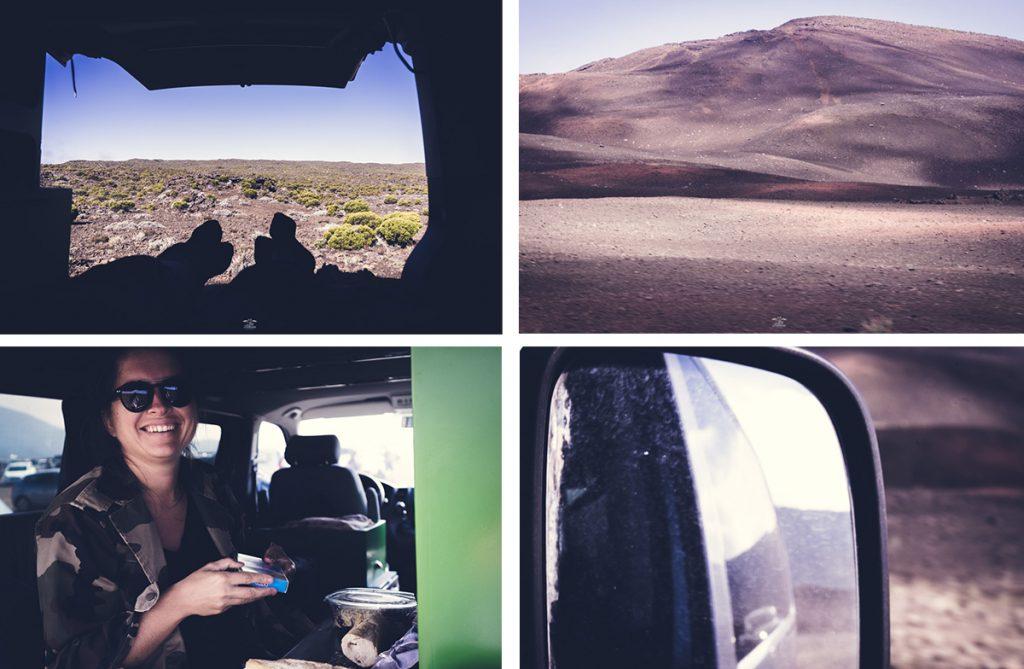 viaje por carretera en furgoneta a la isla de la reunión