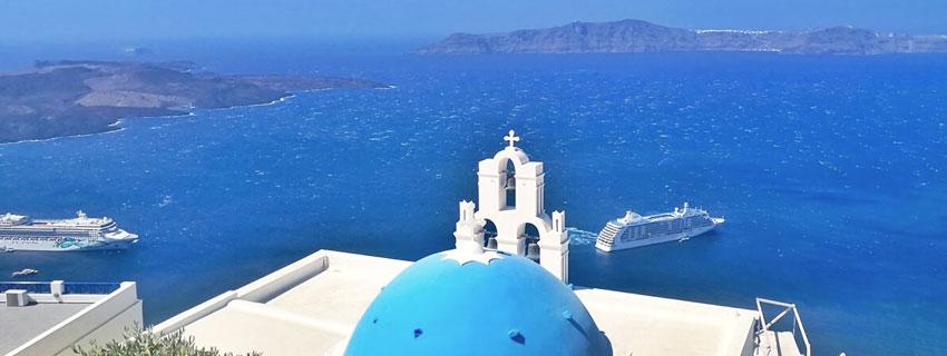 Bahía de Santorini