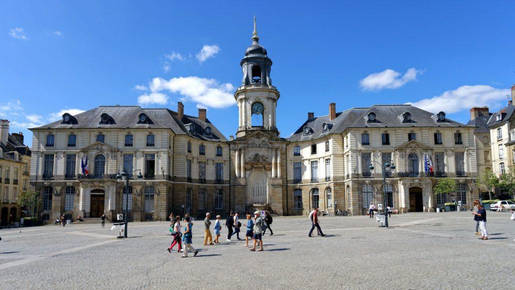 Plaza del Ayuntamiento de Rennes