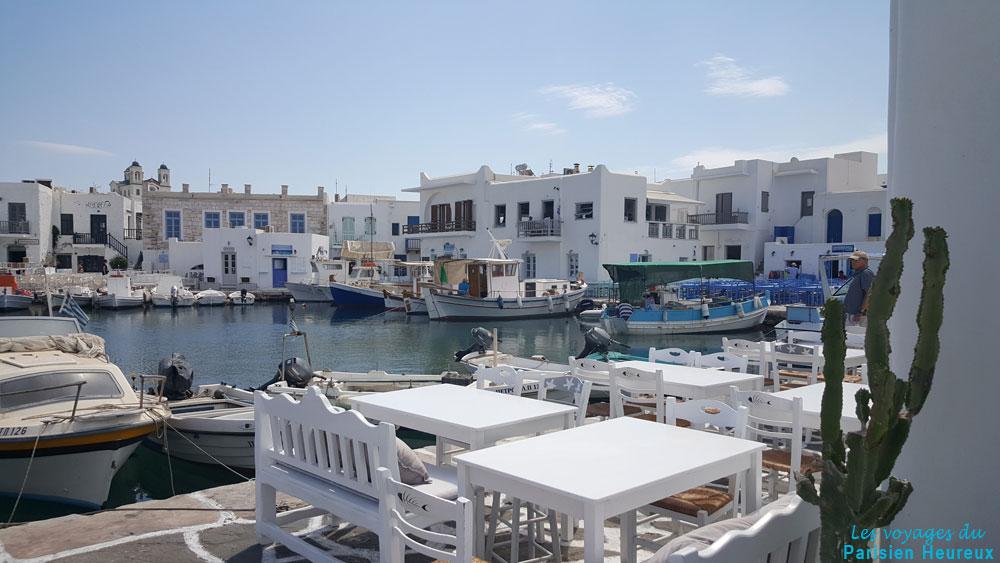 Naoussa en la isla de Paros