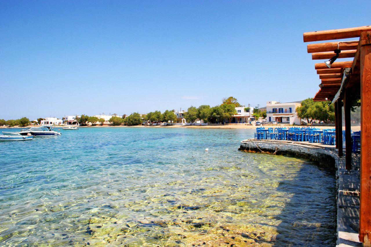 Aliki en la isla de Paros