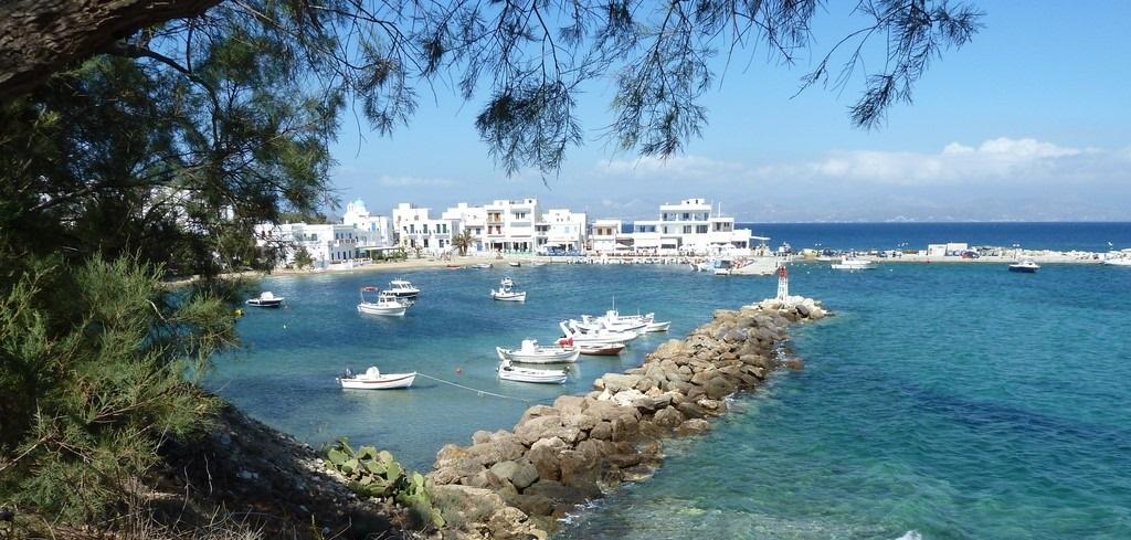 Piso Livadi en la isla de Paros