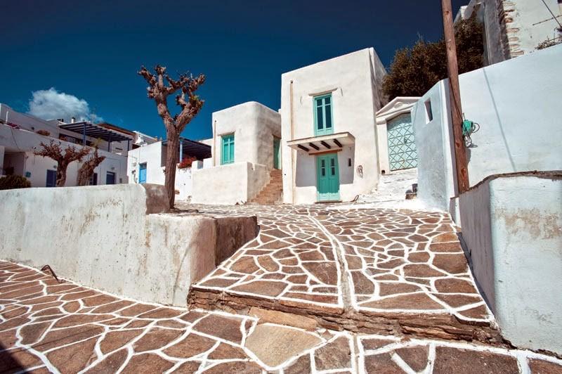 Marpissa en la isla de Paros