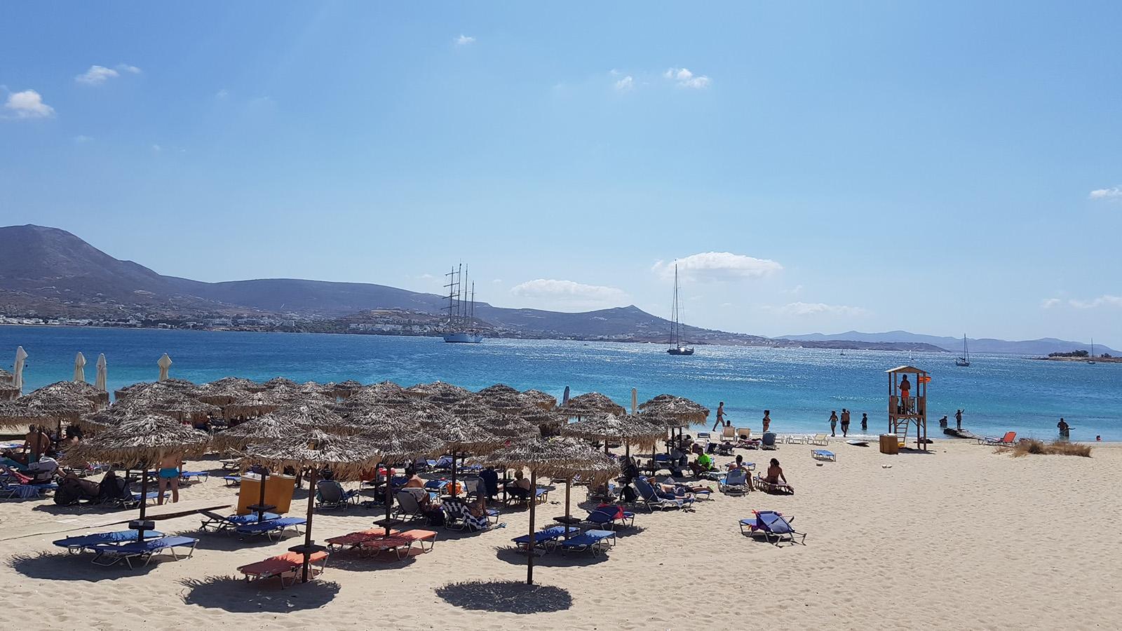Las playas de Marcello (o Martselo) y Krios en Paros