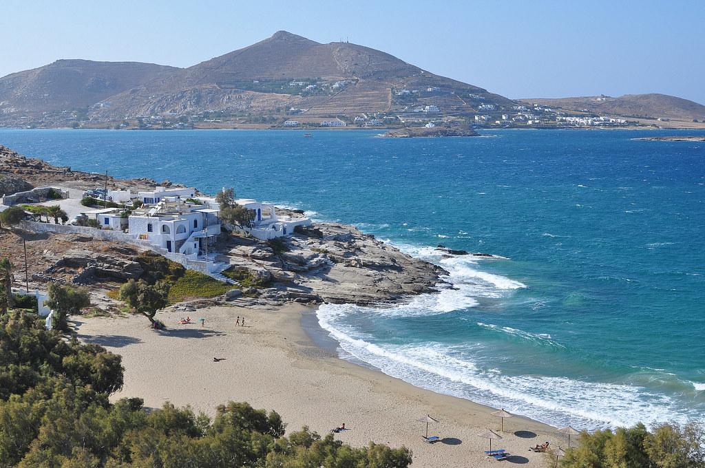 Playa Piperi en Paros