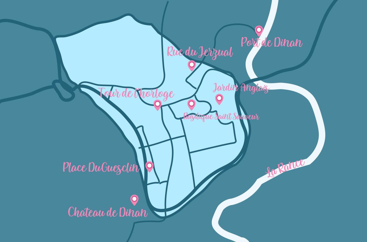 Plan Dinan