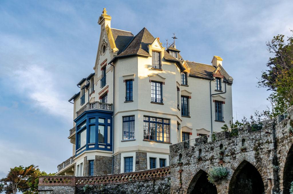 Visiter Dinard : Villa