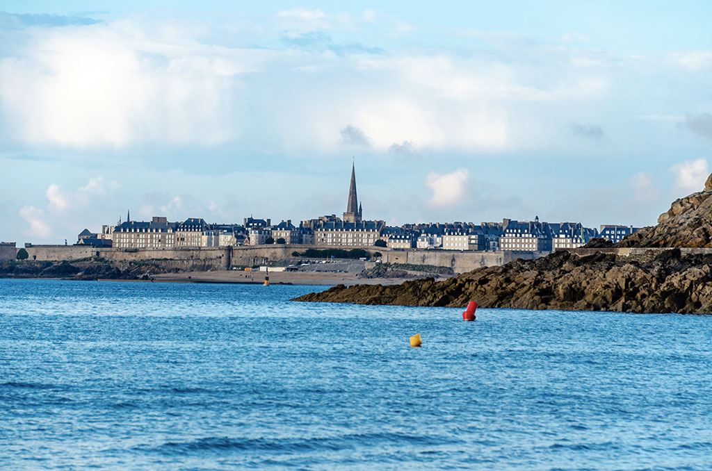 Dinard Vue St Malo