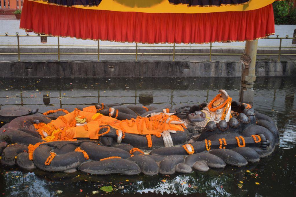 Misterio del templo Budhanilkantha