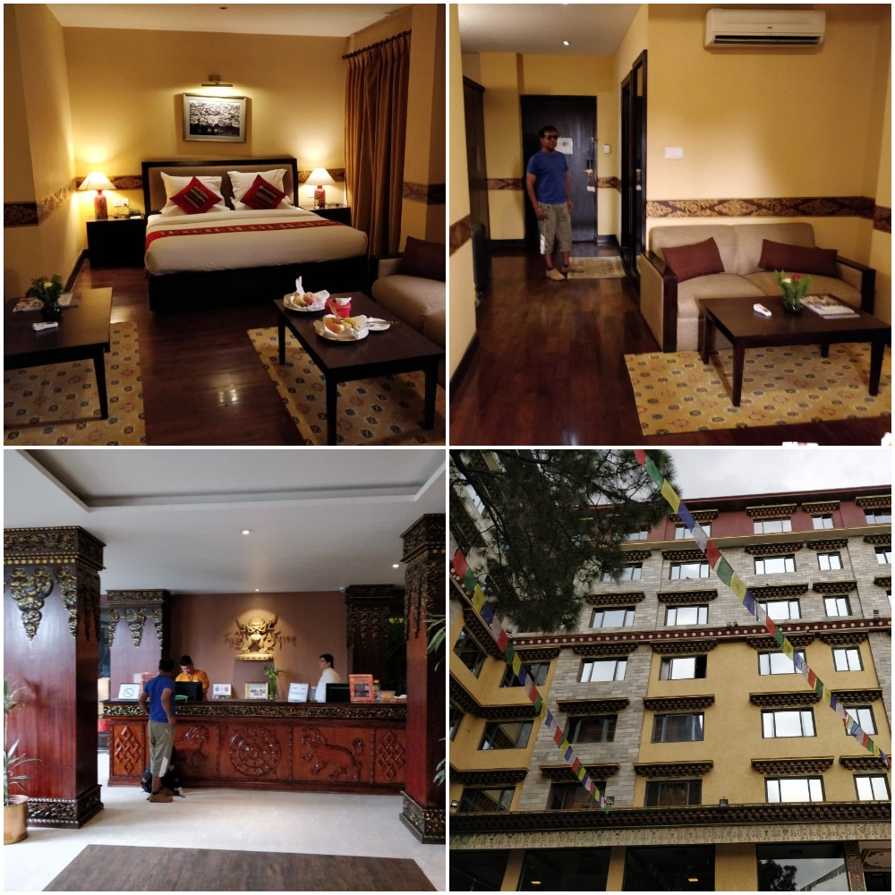 Hoteles en Tibet International