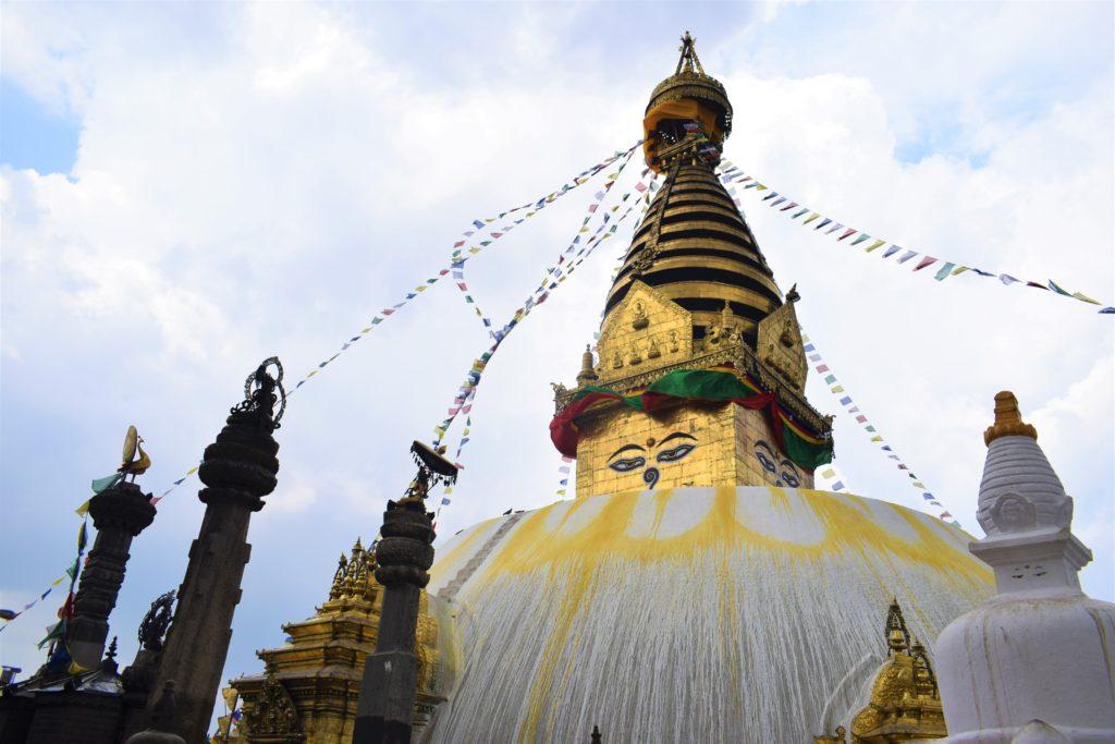Estupa de Swayambhunath, Katmandú