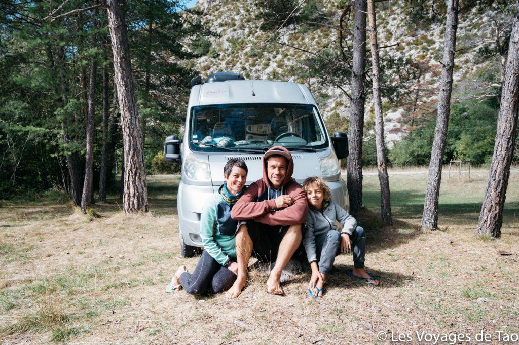 Vanlife con la familia viajera de Tao