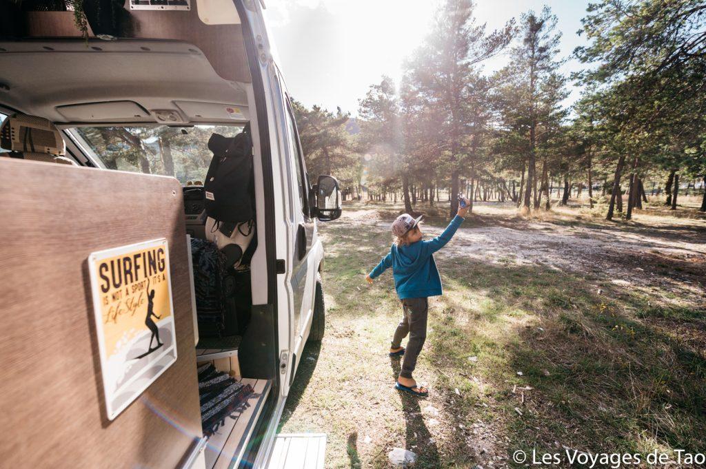 Roadtrip Francia en camión