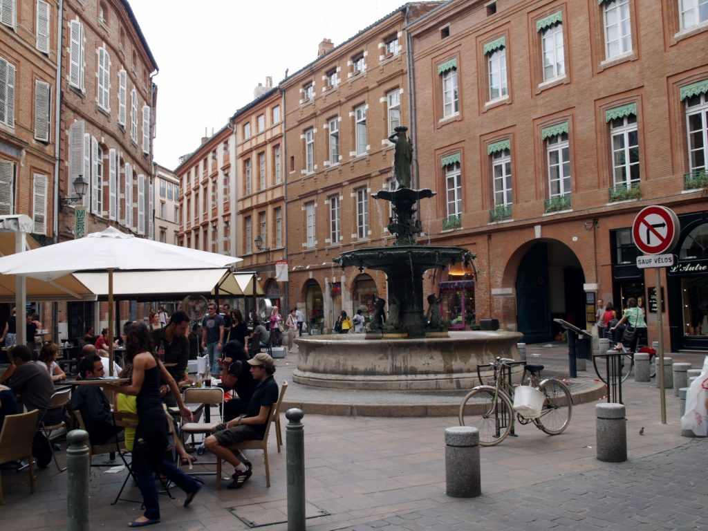 Place de la Trinité en Toulouse