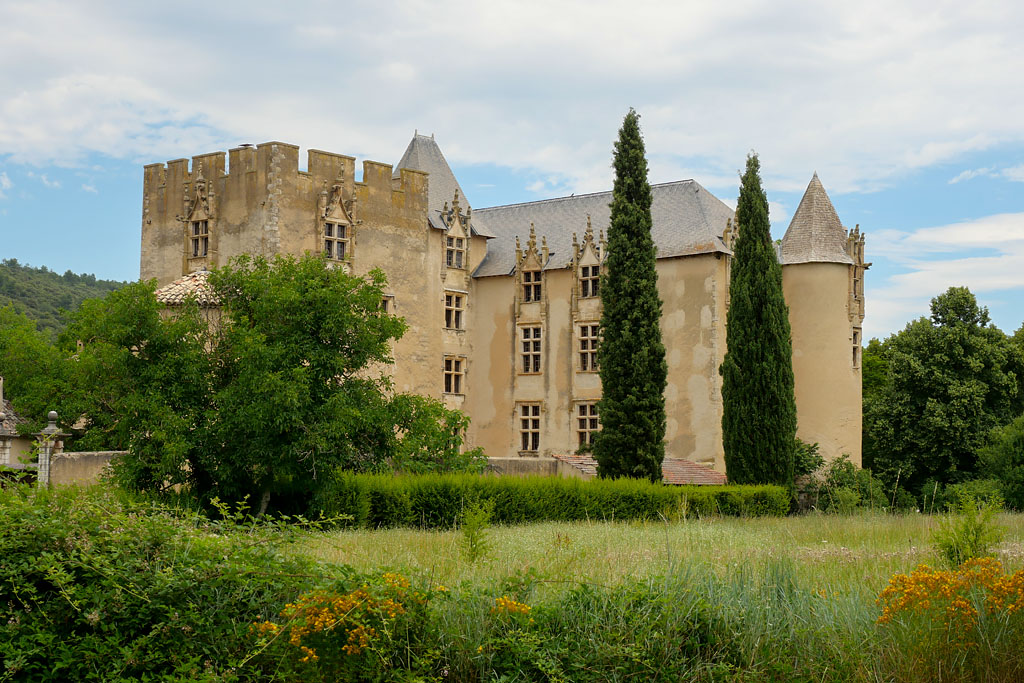 Chateau Alemania en Provenza Francia