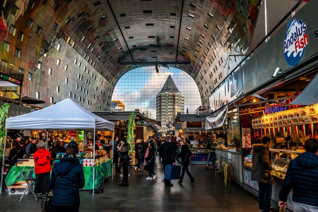 Mercado interior de Rotterdam