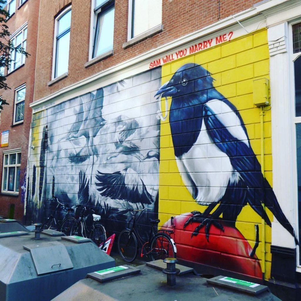 arte callejero de Rotterdam