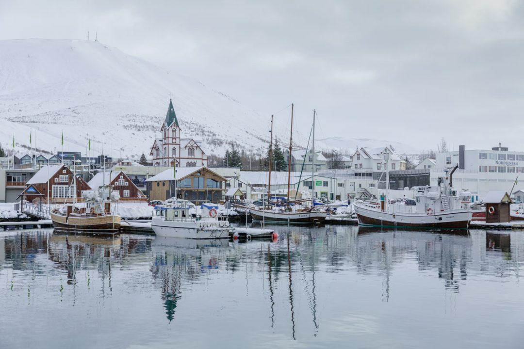 Húsavík, capital islandesa del avistamiento de ballenas