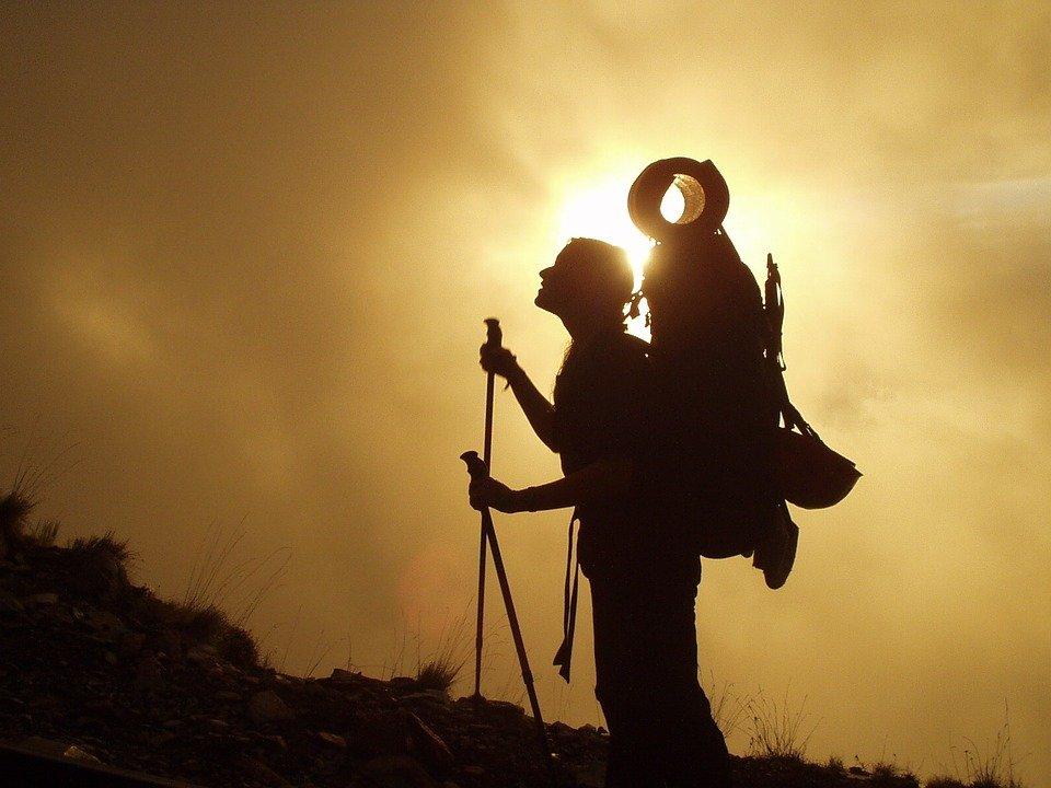 Trekking, senderismo, montañismo, mochilero